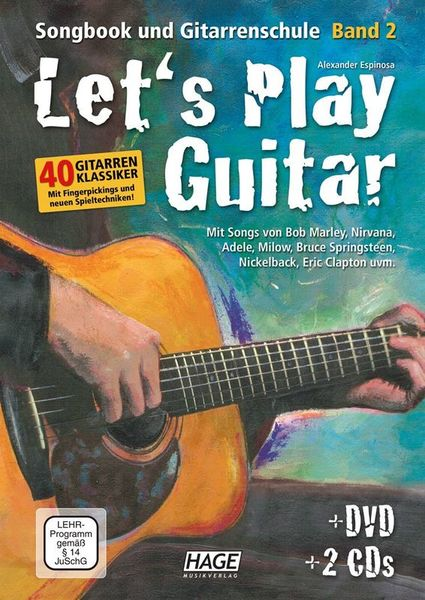 Hage Musikverlag Let's Play Guitar 2