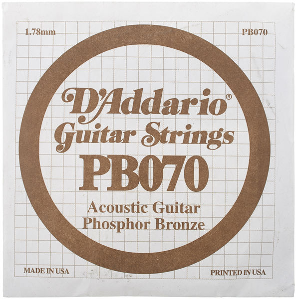 Daddario PB070 Single String