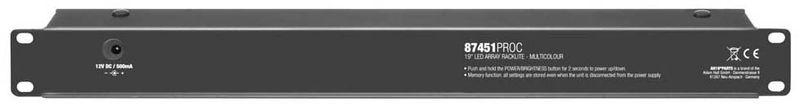 Adam Hall 87451 Pro C LED Rack Light mc