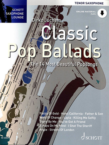 Schott Classic Pop Ballads Tenor Sax
