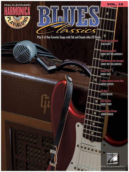 Hal Leonard Harmonica Play-Along Blues Cl.