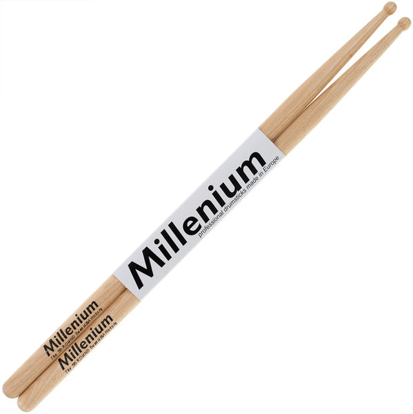 Millenium 5B Hickory Sticks round