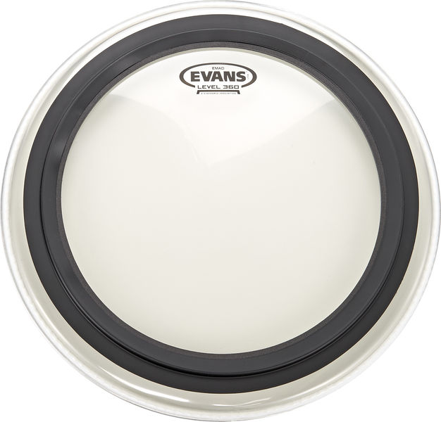 "Evans 16"" EMAD Clear Bass Drum"