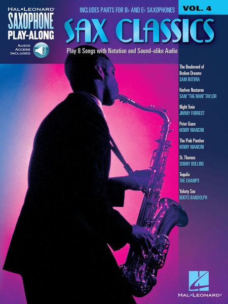 Hal Leonard Sax Play-Along Classics