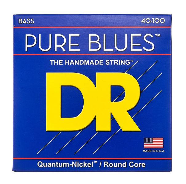 DR Strings Pure Blues Bass Lite 40-100