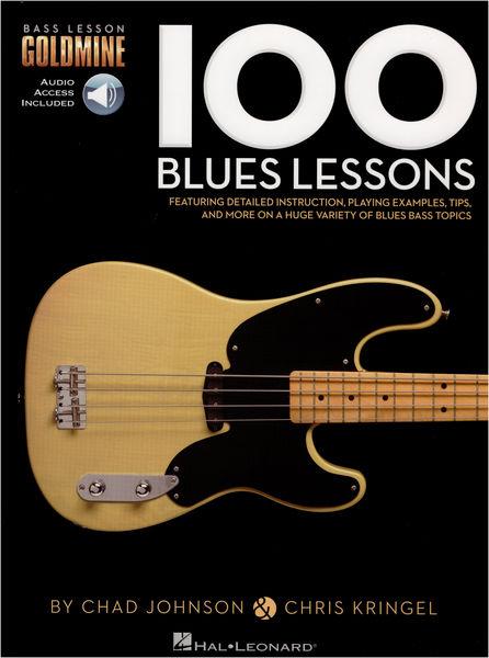 Hal Leonard 100 Blues Lessons Bass