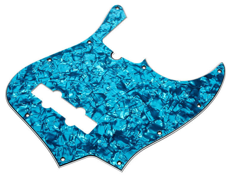 dAndrea J-Style Pickguard Aqua Pearl