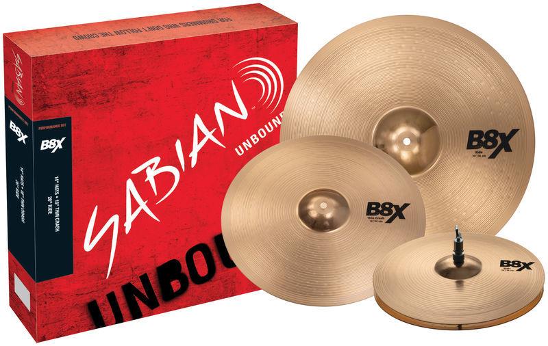 Sabian B8X Performance Set