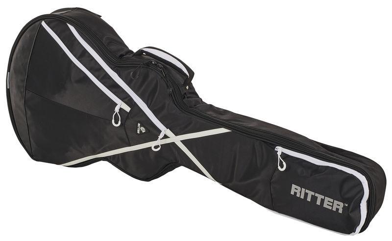 Ritter RGP8 Semi Hollow Guitar BWK