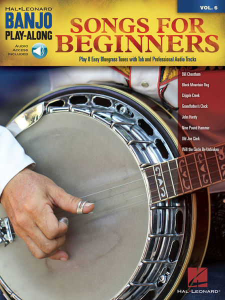 Hal Leonard Banjo Play-Along Songs Beginne
