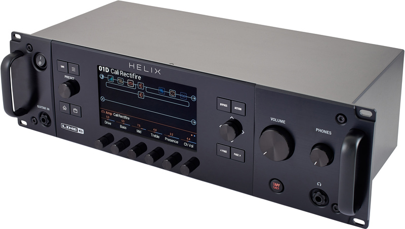 Line6 Helix Rack Guitar Processor