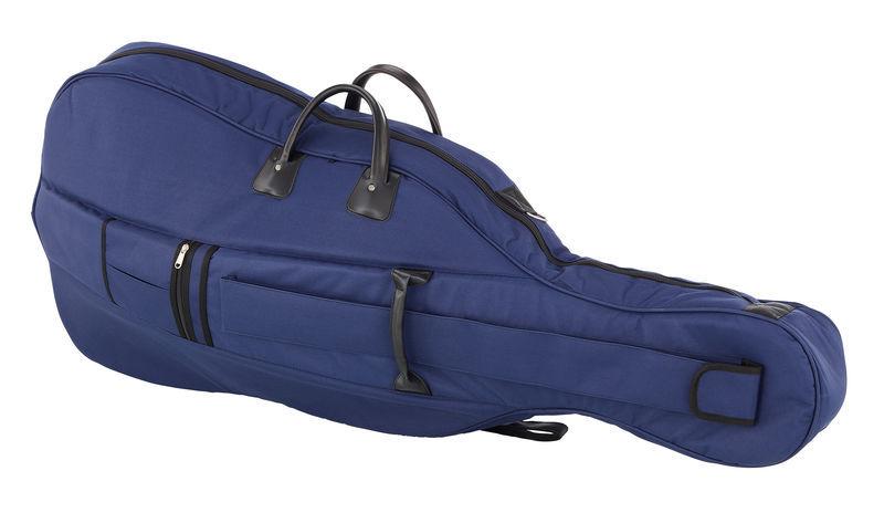 Petz Cello Bag 3/4 BK/BL 18mm