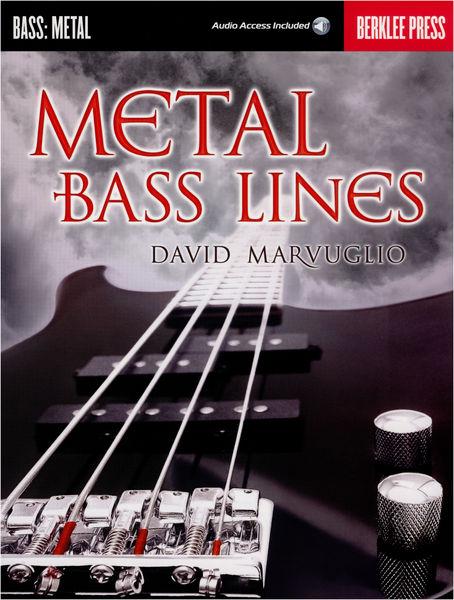 Berklee Press Metal Bass Lines