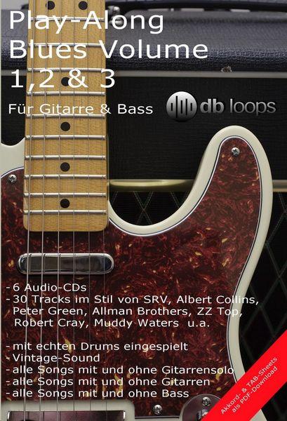 db loops Play Along Blues 1,2 & 3