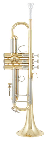 Bach ML19037 Bb- Trumpet lacquered