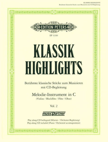 Edition Peters Klassik Highlights 2