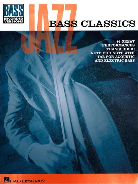 Hal Leonard Jazz Bass Classics