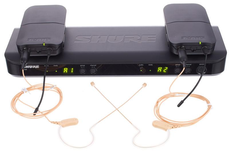 Shure BLX188/MX53 Combo T11