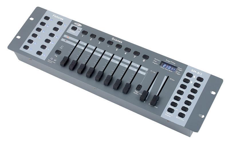 Showtec SM-8/2 16 Channel Light Desk