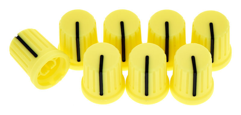 Reloop Knob Cap Set - Yellow