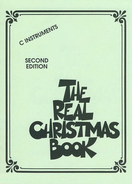 Hal Leonard The Real Christmas Book C