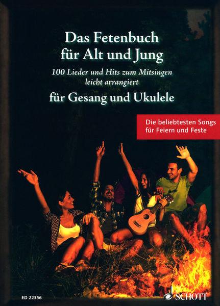 Schott Fetenbuch Gesang/Ukulele