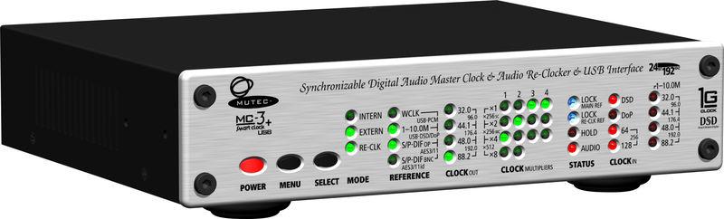 Mutec MC-3+ Smart Clock USB silver