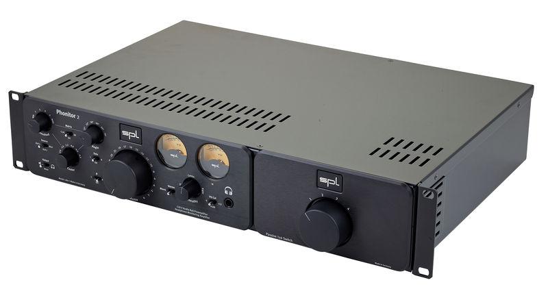 SPL Phonitor 2 Black + Exp. Rack