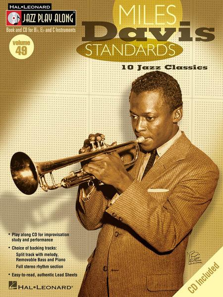 Hal Leonard Jazz Play-Along Miles Davis