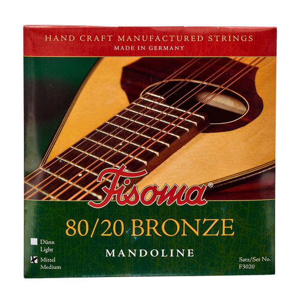 Fisoma F3020M Mandolin Strings 80/20