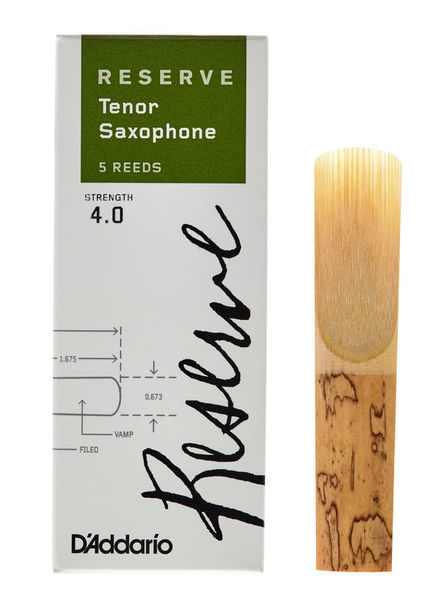 DAddario Woodwinds Reserve Tenor Sax 4.0