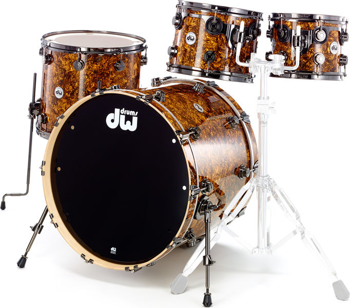 DW Finish Ply Gold Abalone