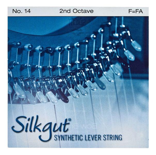 Bow Brand Silkgut 2nd F Harp Str. No.14