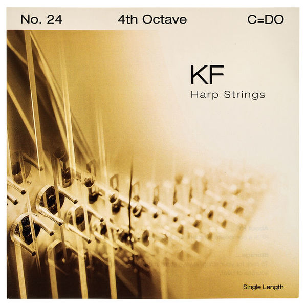 Bow Brand KF 4th C Harp String Nr.24