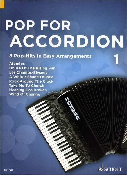 Schott Pop For Accordion 1