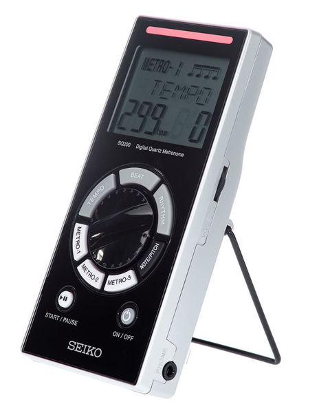 Seiko SQ-200 Metronome Black