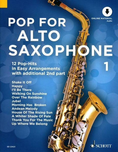 Schott Pop For Alto Saxophone 1