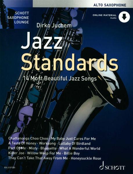 Schott Jazz Standards Alto Sax