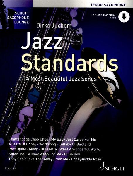 Schott Jazz Standards Tenor Saxophone