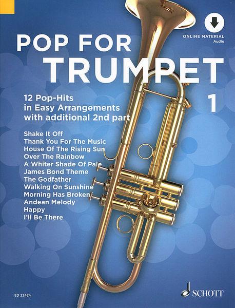 Schott Pop For Trumpet 1
