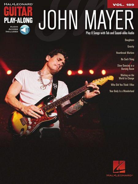 Hal Leonard Guitar Play-Along John Mayer