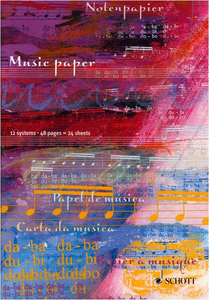 Schott Manuscript Paper A4