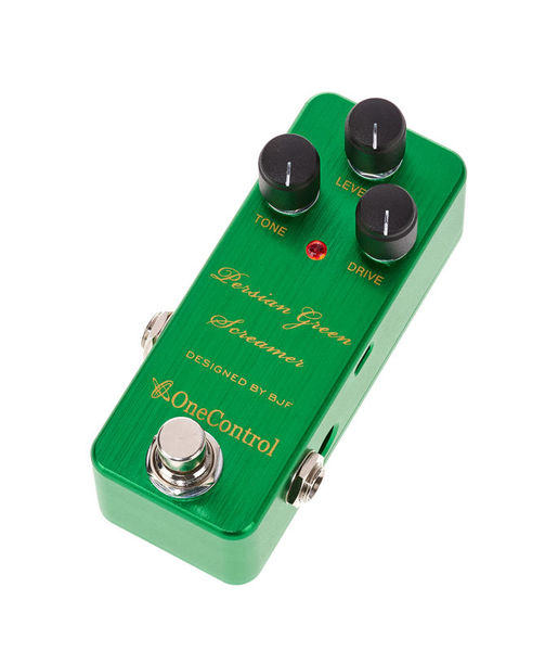 One Control Persian Green Screamer Overdr.