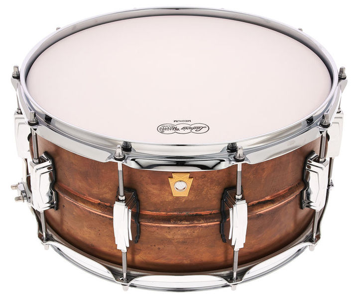 "Ludwig 14""x6,5"" Raw Copper Phonic"