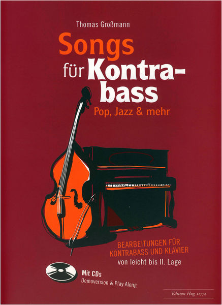 Edition Hug Songs für Kontrabass
