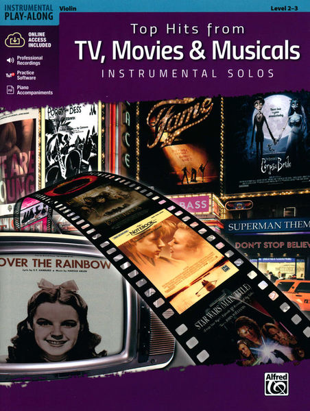 Alfred Music Publishing Top Hits from TV Violin