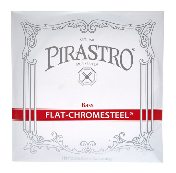 Pirastro Flat-Chromesteel G Bass medium