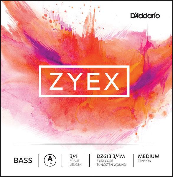 Daddario DZ613-3/4M Zyex Bass A med.