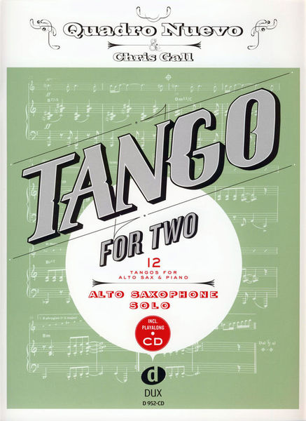 Edition Dux Tango For Two A-Sax