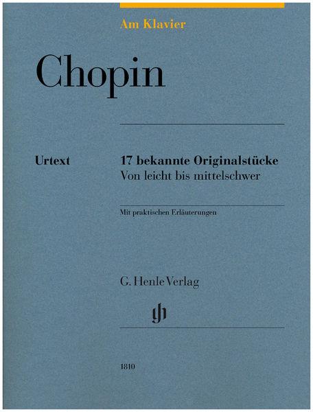 Henle Verlag Am Klavier Chopin